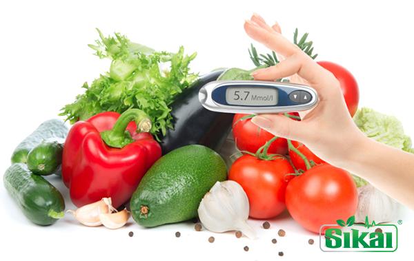 Điều trị bệnh tiểu đường type 2 bằng chế độ ăn uống phù hợp.